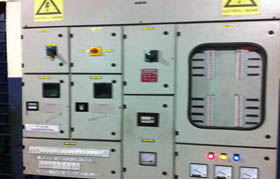 Modernised Electrical Control Panel